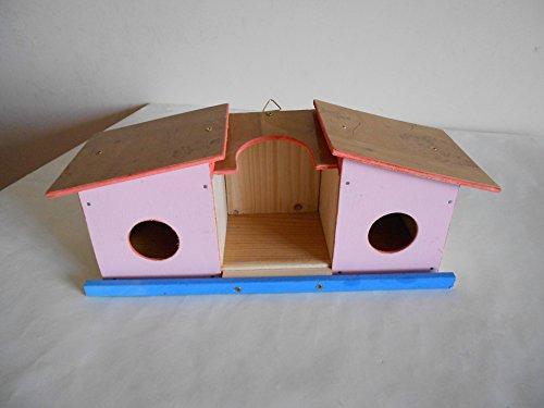 Casetta per uccellini per giardino o balcone Materiali riciclati