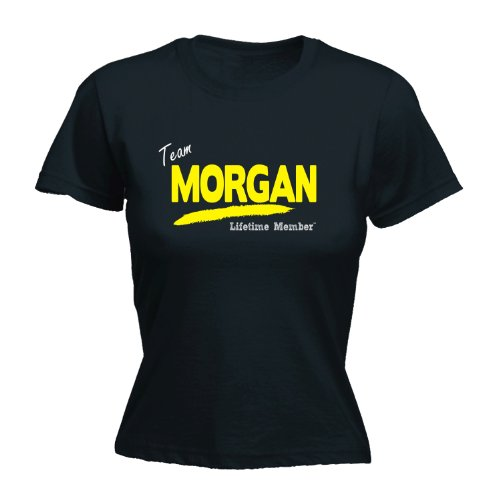 Its A Surname Thing Women's - 'TEAM MORGAN LIFETIME MEMBER' FAMILY NAME - Ladies Fitted T-shirt