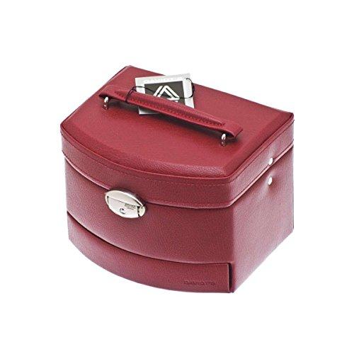 Coffret à Bijoux Rouge Davidt's