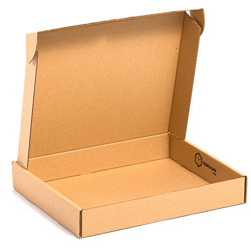TeleCajas®   25x Caja Cartón Postales Kraft   Cajas