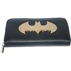 Monedero y billetera mujer Batman. logo. DC Comics