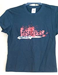 "The Disasters ""Logo"" Ladies Black Skinny T-Shirt"