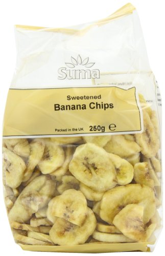 Suma Banana Chips 250 g (Pack of 6)