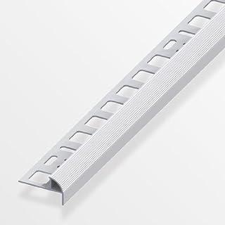 Alfer Treppenkantenprofil 10mm/250cm Aluminium eloxiert silber