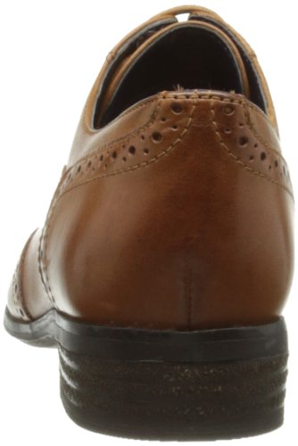 Clarks - Scarpe stringate Hamble Oak, Donna Marrone (Dark Tan Lea)