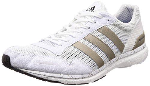 adidas Herren Adizero Adios Cross-Trainer, Elfenbein FTWR White/Cyber Met./core Black, 46 EU