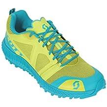 Scott Ws Kinabalu - Zapatillas de Running para Mujer, Amarillo/Azul, 8