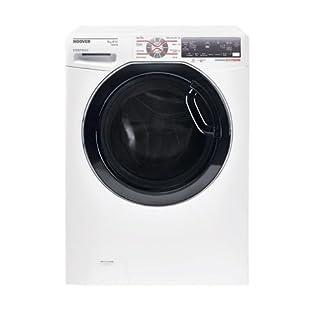 Hoover-dwfts-511-AH81–01-autonome-Belastung-Bevor-11-kg-1500trmin-A-50-wei-Waschmaschine–Waschmaschinen-autonome-bevor-Belastung-wei-links-LCD-Edelstahl