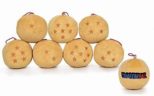 Toei animation Pack 7 Dragon Balls Plush Toy 12 CM Dragon Ball