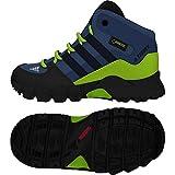 adidas Unisex Baby Terrex Mid GTX Sneaker, Blau (Traroy/Conavy/Sslime 000), 26 EU