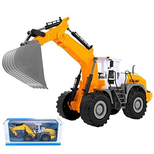 RC Auto kaufen Baufahrzeug Bild: RC ferngesteuerter bagger kinder Baufahrzeug für Kinder ab 3 Jahren Spielzeugauto Kranwagen Bulldozer Bagger Kinder*