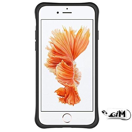 Schutzhülle für iphone 6S (4.7 Zoll), Blau Hybrid Handy Schutzhülle Tasche Dual Layer aus Hart PC und Silikon Armor Case Ständer Schale Tasche für Apple iphone 6 / 6S 4.7'' Smartphone Grau