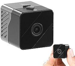 Somikon Mini Kamera: Mobile Mini-HD-Überwachungskamera mit Bewegungssensor, 1 Jahr Stand-by (Mini HD Kamera)