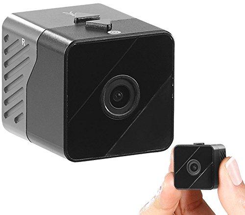 Somikon Mini Kamera: Mobile Mini-HD-Überwachungskamera mit Bewegungssensor und Nachtsicht (Mobile Kamera)