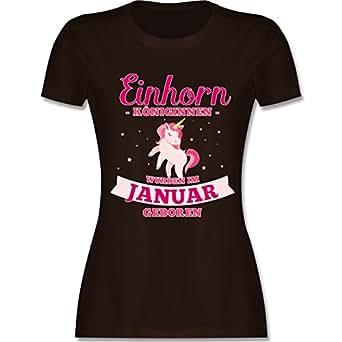 Bild nicht verfügbar. Keine Abbildung vorhanden für. Farbe: Shirtracer  Geburtstag - Einhorn Königinnen wurden im Januar geboren ...