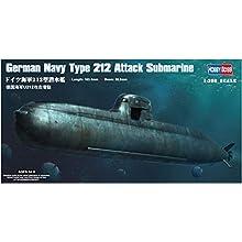 Hobbyboss 1:350 Scale German Navy Type 212 Attack Submarine Assembly Kit