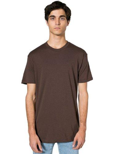 American Apparel - Poly-Cotton Short Sleeve Crew Neck T-Shirt (BB401) Braun