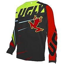 Uglyfrog Ropa de Descenso MTB Manga Larga Maillot de Ciclismo Moto Cross Enduro Downhill Jersey Z01