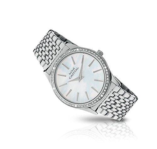 Capital orologio donna ax8090*li01 new york madreperla con swarovski