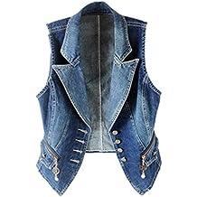 079c46db5c Amazon.it: gilet donna jeans - Blu