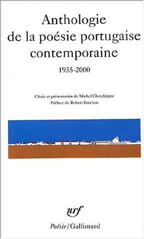 Anthologie de la poésie portugaise contemporaine