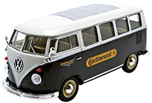 Welly - 22095continental - Véhicule Miniature - Modèle À L'échelle - Volkswagen Combi T1 Bus Continental - 1962 - Echelle 1/24