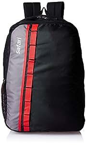 Safari 25 Ltrs Black Casual Backpack (Jump 2 Black)