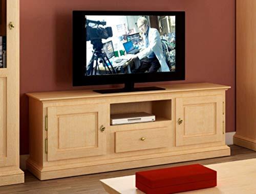 casamia TV-Lowboard Grande Pinie massiv Pinie lipizano