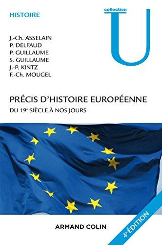 Précis d'histoire européenne - 4e éd. - Du 19e siècle à nos jours