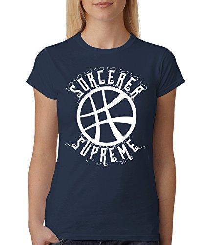 -- Sorcerer Supreme -- Girls T-Shirt Navy
