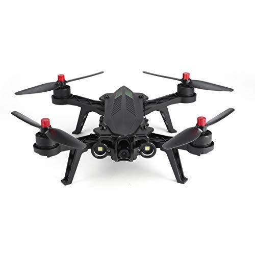 "Mazur MJX Bugs 6 B6FD 2.4GHz 4CH 6 Axis Gyro RTF Drone con HD 720P 5.8G cámara FPV y 4.3 ""LCD RX Monitor sin escanear RC Quadcopter (Color: Negro)"