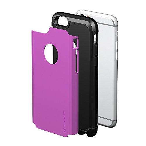 iPhone 6S/6étui, luvvitt® Ultra Armor Coque pour Apple iPhone 6(2014)/iPhone 6S (2015) [garantie à vie] Double Couche antichocs rigide avec pare-chocs   Best iPhone 6/6S Étui pour écran 11,9cm violet