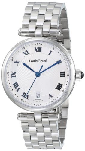 Louis Erard Women's 11810AA01.BMA24 Romance Analog Display Quartz Silver Watch
