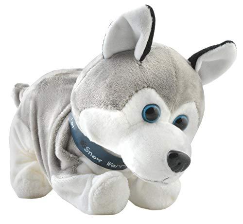 Interaktiver Hund Husky Reagiert auf Berührung Kommando Bellen Schnüffeln Knurren 4477
