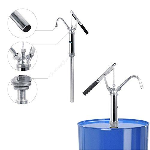 Pompa Travaso Liquidi Rotativa,Pompa Manuale per Fusti Olio