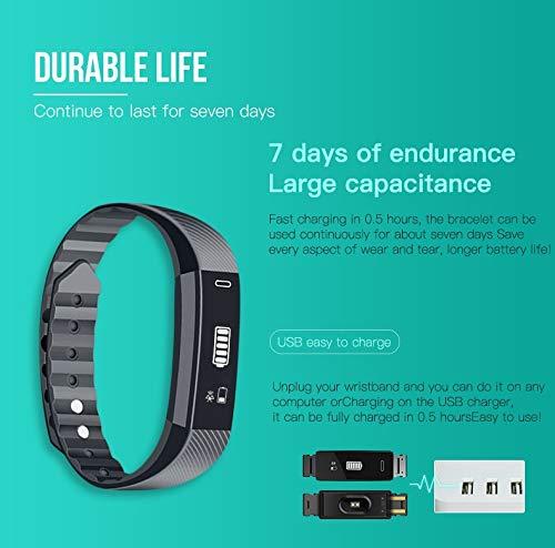 Forme Pulsera de Actividad I Monitor de Actividad Pantalla a Color I Reloj Inteligente I Pulsómetro Presión Sanguínea I… 7
