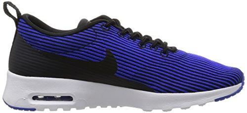 Nike W Air Max Thea Kjcrd, Chaussures de Sport Femme Noir - Negro (Black / Black-Racer Blue-White)