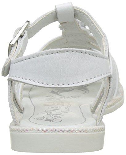 Primigi Pfc 7206, Sandales Bout Ouvert Fille Blanc (Bianco)