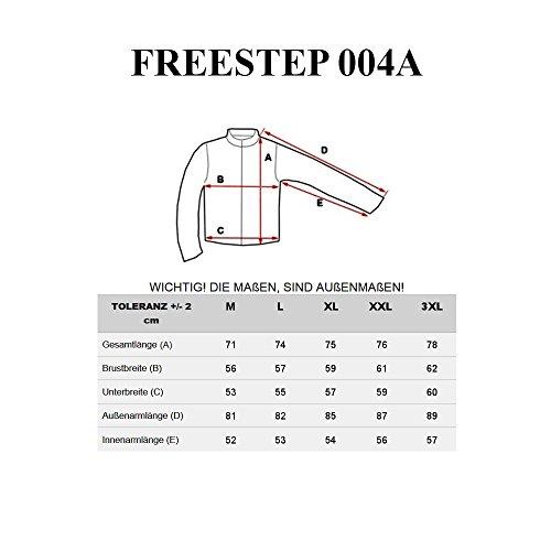 BOLF Herren Softshelljacke Übergangsjacke Sport Outdoor Zip Kapuze Hoodie 4D4 Motiv Rot_004A
