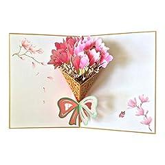Idea Regalo - Biglietto Matrimonio, Auguri 60 Anni, Compleanno, Pop Up,Idea Regalo,Ricorrenza, Inviti Nozze,Tridimensionalità,3D