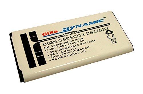GiXa Dynamic Ersatz Akku Samsung Galaxy S5 Mini / SM-G800F Samsung EB-BG800BBC / EB-BG800BBE Akku