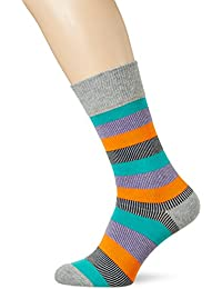 Burlington Varied Stripe, Chaussettes Homme