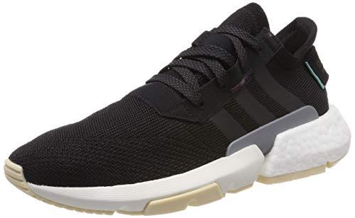 adidas Damen Pod-s3.1 W Gymnastikschuhe, Schwarz Core Black/Maroon, 36.5 EU Maroon-design