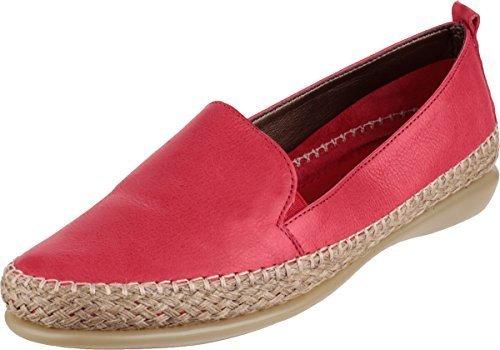 The Flexx Raffaello Guanto Donna Estate Slip On scarpe di pelle, rosso (Red), 38 EU