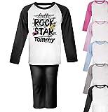 Personalised Rock Star Pyjamas Toddler Pyjamas Girls Pjs Boys Christmas Gifts Girls Kids
