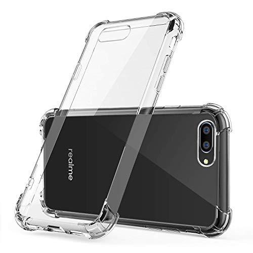 Difal Case Transparent Back Cover for Realme C2