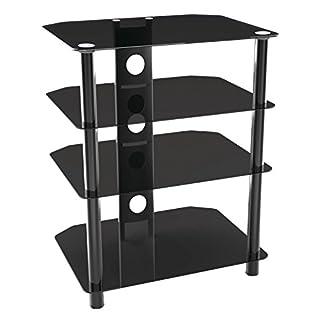 hifi regal glas heimwerker. Black Bedroom Furniture Sets. Home Design Ideas