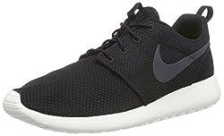 Nike Herren Roshe One Low-Top, Schwarz (010 BLACK/ANTHRACITE-SAIL), 42.5 EU