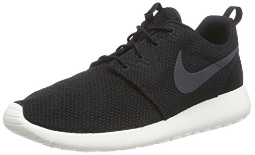 Nike Roshe One, Sneaker Unisex adulto, Black/Anthracite/Sail, 42