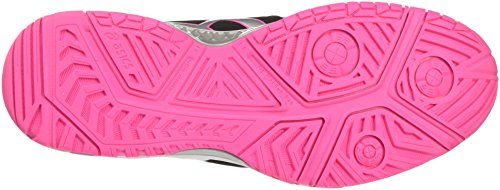Laufschuhe Blacksilverhot Asics Resolution Gel Schwarz 7 9093 Pink Damen axYIa